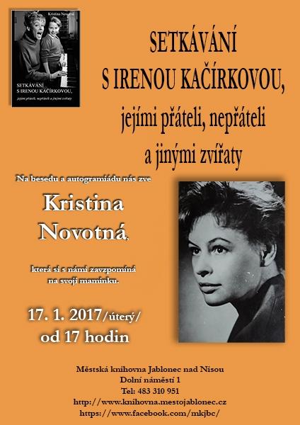 Setkávání s Irenou Kačírkovou, obrázek se otevře v novém okně